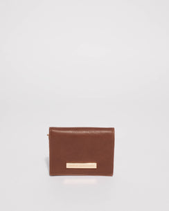 Morgan Smooth Tan Small Purse