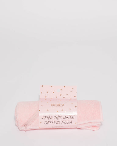 Pink Gym Towel