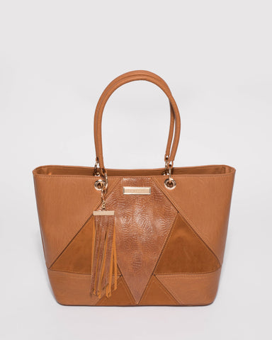 Coco Textured Luxe Tote