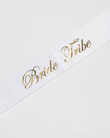 Bride Tribe Bridal Party Sash