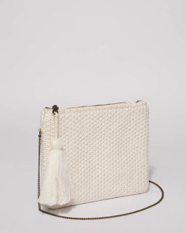 Ivory Harlow Clutch Bag