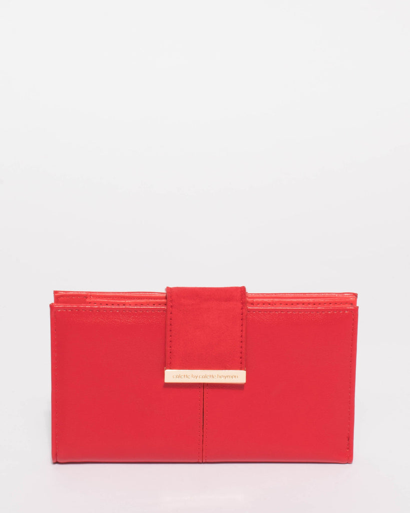 Cassidy Red Tab Wallet