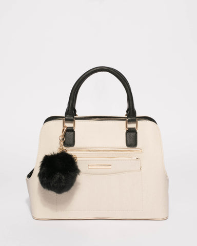 Monochrome Harriet Double Tote Bag