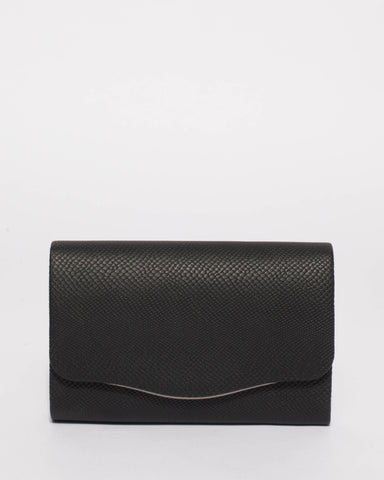 Black Adele Evening Clutch Bag