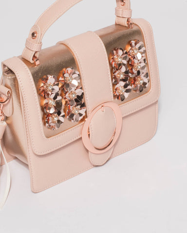 Pink Mel Embellished Mini Bag