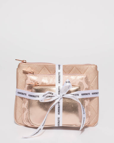 All Nighter Rose Gold Purse Gift Set