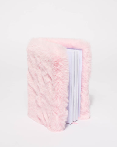 Pink Fluffy Fur A5 Notebook