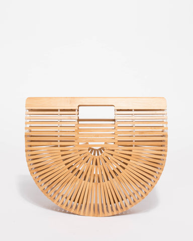 Gia Basket Small Bag