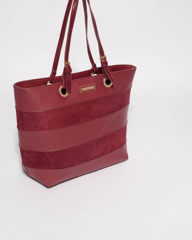 Berry Alice Panel Large Bag