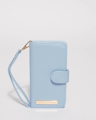 Blue Iphone 6, 7 & 8 Plus Purse