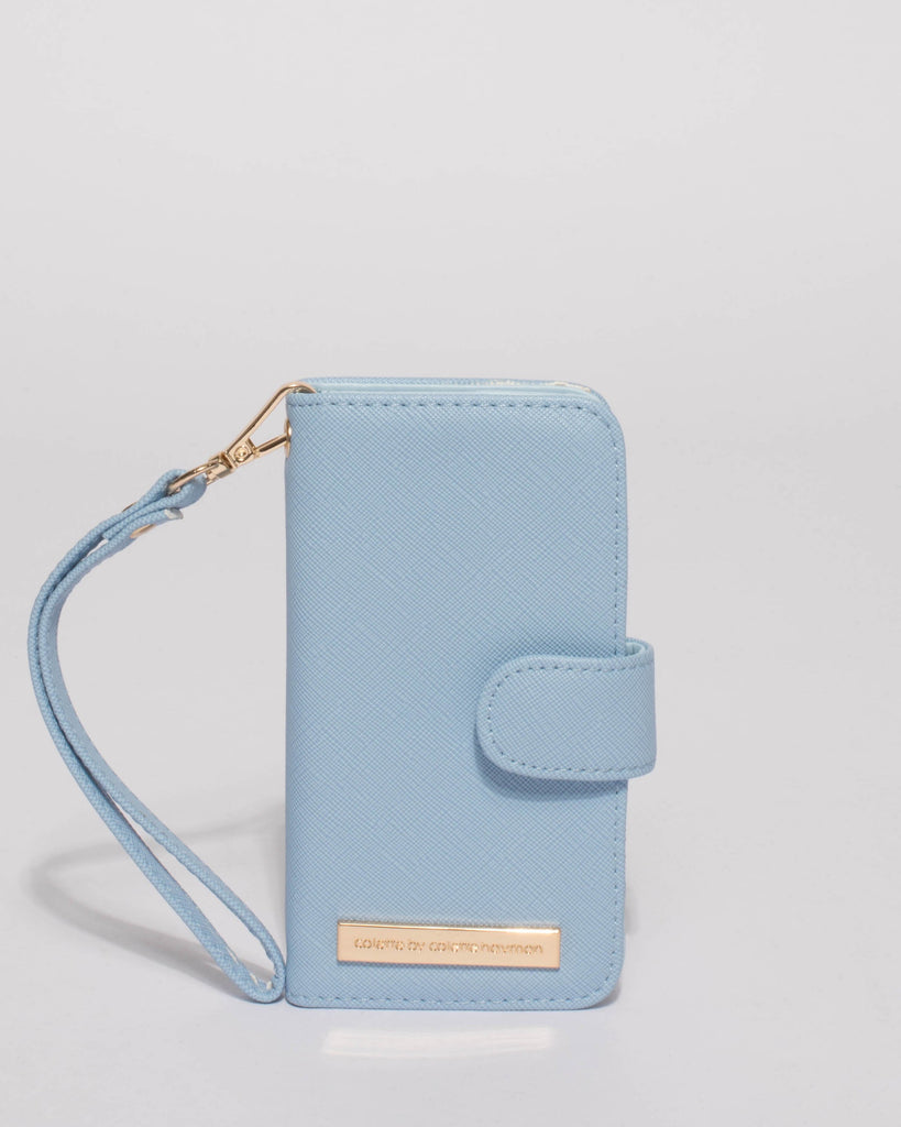 Blue Iphone 6, 7 & 8 Purse