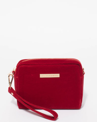 Red Velvet Suri Crossbody Bag