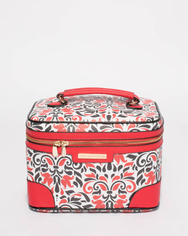 Red Cosmetic Case Pack