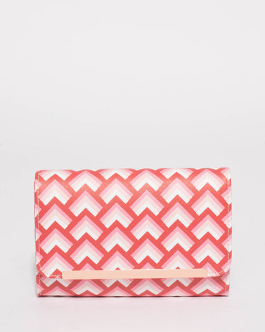 Multi Colour Alice Eve Clutch Bag