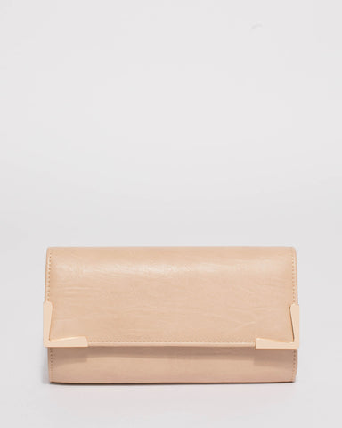 Natural Maya Evening Clutch Bag
