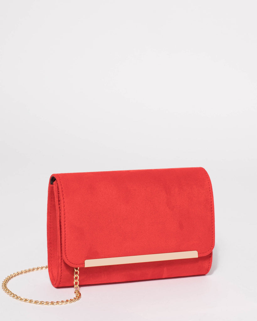 Red Alice Eve Clutch Bag