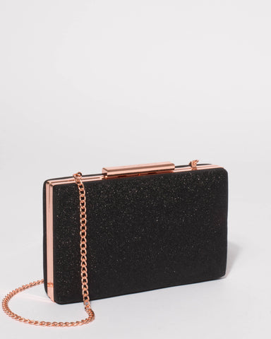 Black Jaimi Clutch Bag