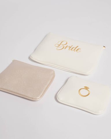 White Bride Purse Pack