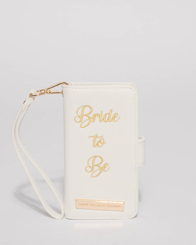 White Bride Iphone 6, 7 & 8 Purse