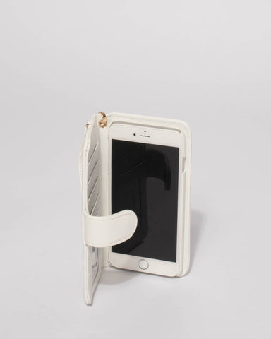 White Bride Iphone 6, 7 & 8 Plus Purse