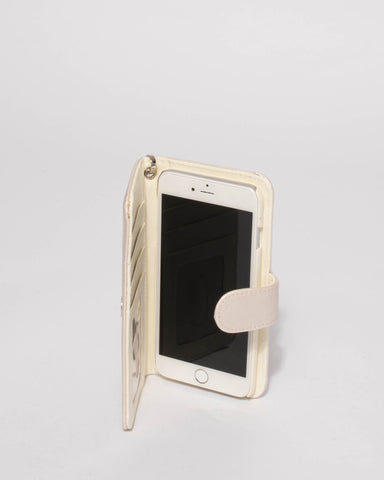 Ivory Wifey Iphone 6, 7 & 8 Plus Purse
