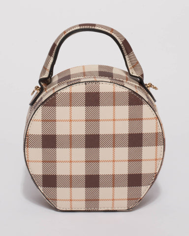 Brown Katie Circle Saddle Bag