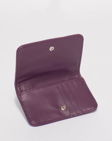 Purple Lulu Purse