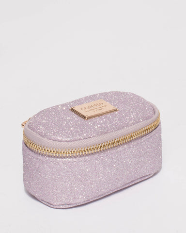 Purple Jewel Purse