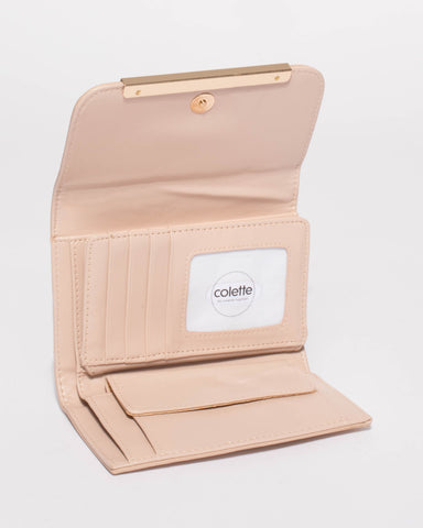 Blush Nude Juliette Small Wallet