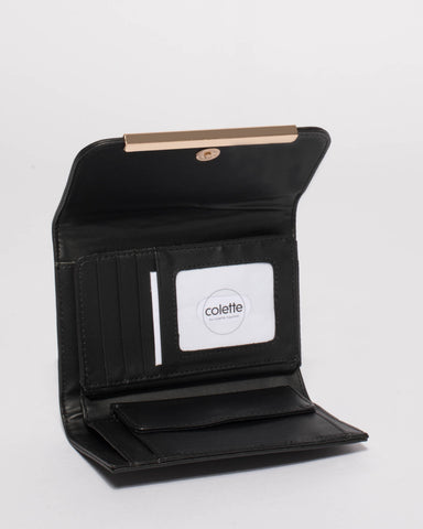 Black Juliette Small Wallet