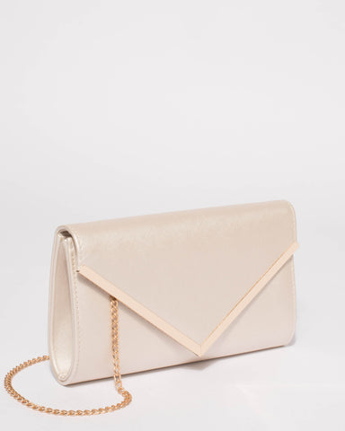 Ivory Lucy Evening Clutch Bag