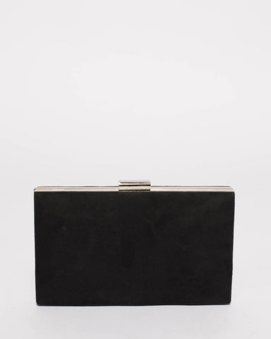 Black Fergi Evening Clutch Bag