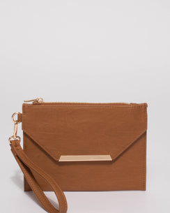 Tan Clarise Small Bag