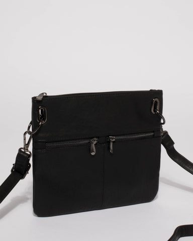 Black Keya Small Bag With Gunmetal Hardware
