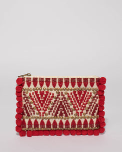 Red Weave Ayla Peta Crossbody bag