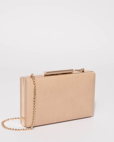 Beige Jaimi Clutch Bag