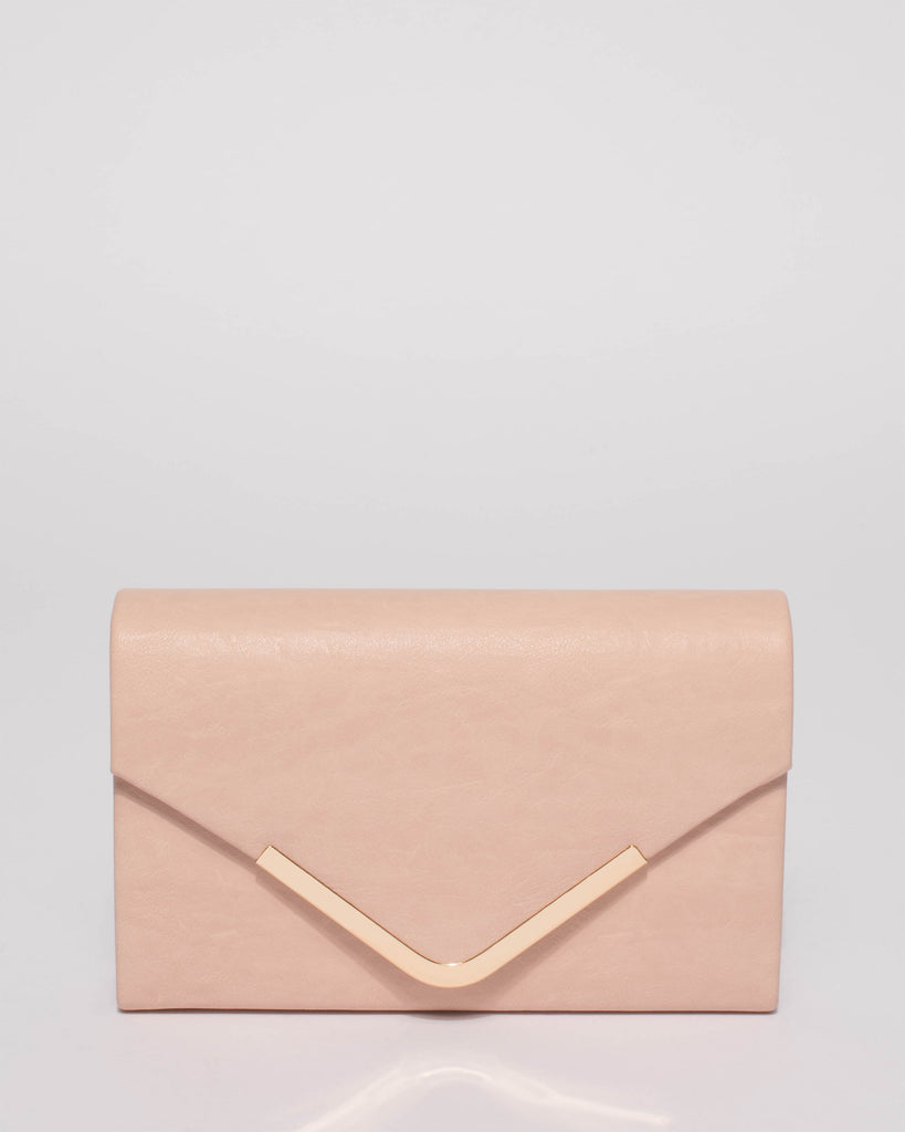 c042a8061e Pink Lila Envelope Clutch Bag – Colette by Colette Hayman UK