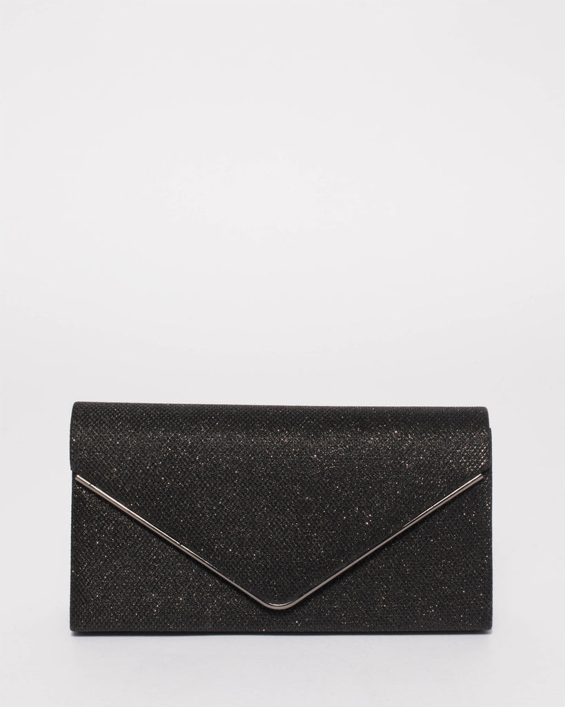 Black Sammie Clutch Bag