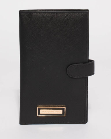 Black Toni Travel Wallet