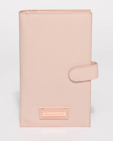 Pink Toni Travel Wallet