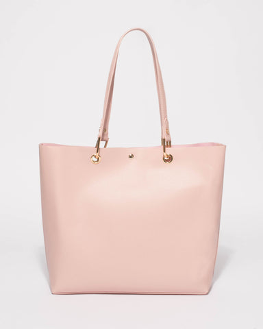 Pink Annabel Large Tote Bag