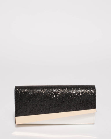Monochrome Elly Diag Clutch Bag