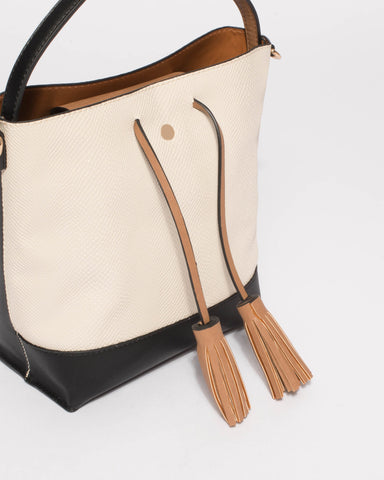 Multi Colour Arielle Bucket Bag