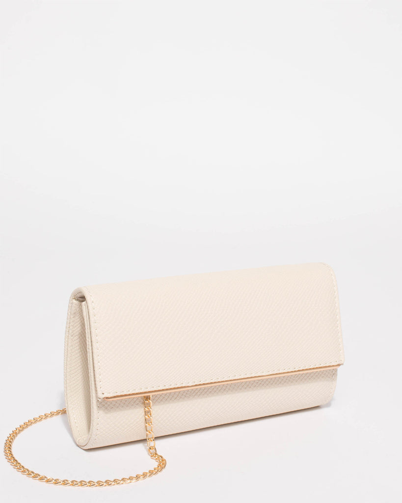 Ivory Piper Casual Clutch Bag