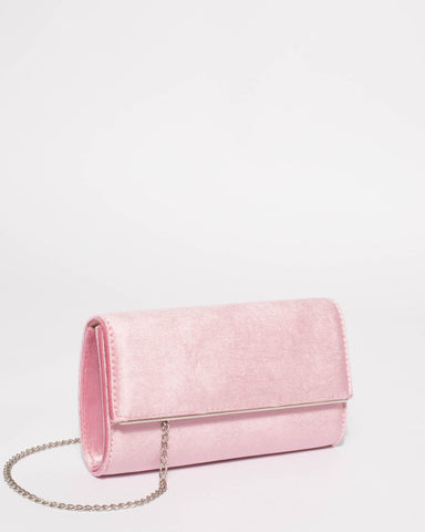 Pink Piper Casual Clutch Bag
