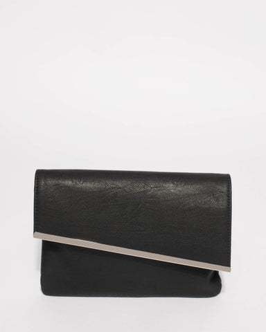 Black Nella Clutch Bag