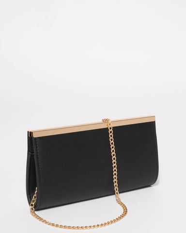Black Taylor Classic Clutch Bag