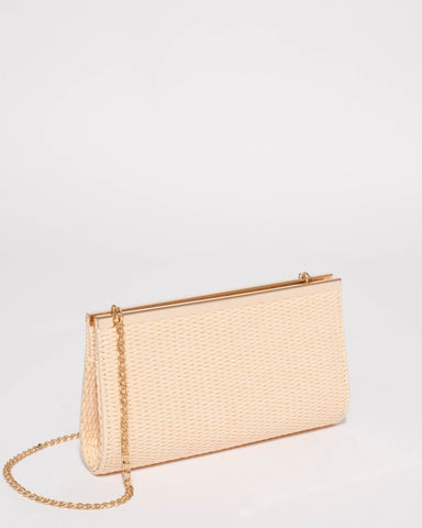 Natural Taylor Classic Clutch Bag