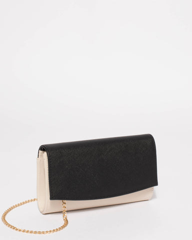 Monochrome Lizzie Eve Clutch Bag