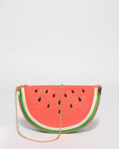 Red And Green Watermelon Clutch Bag Crossbody Bag
